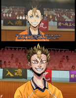 Haikyuu!! Redraw (Comparison) by TheDeepestKing
