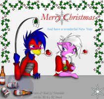 Merry Christmas 2006 by MidNight-Vixen