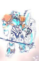 BIONICLE: Kopaka Master of Ice by gk733
