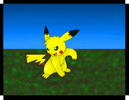 -request5- Kugore the Pikachu by silverlionwolf