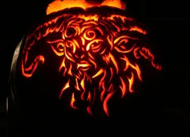 Pans labyrinth Pumpkin by CrossdressingKuja