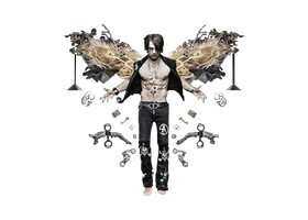 Criss Angel Png by MaddieLovesSelly
