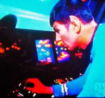 Psychedelic Sixties: Spock on Star Trek (3) by MystMoonstruck