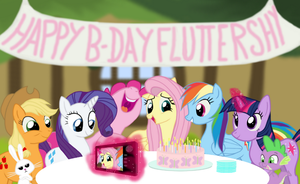 Happy Birthday Fluttershy by SimeonLeonard