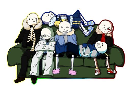 Sans Pile by kitty4915
