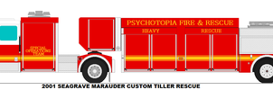 Psychotopia Fire Dept. Heavy Rescue 112 by MisterPSYCHOPATH3001