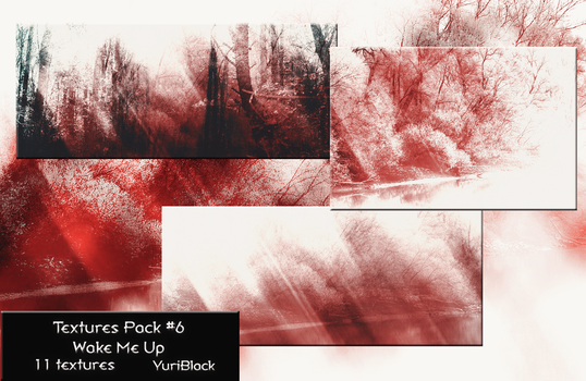 Textures Pack #6 - Wake Me Up by YuriBlack