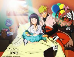 The son of the Hokage is born by WendyUchiha