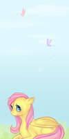 Fluttershy by Nyappy-muffin
