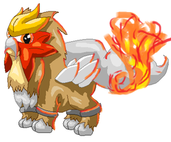 Entei by Arcticfox98