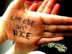 Cheese an' Rice by bespectacled-laura