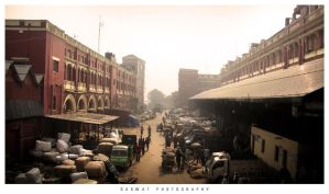 the streets of Kolkata by Saswat777