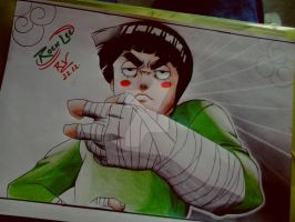 Rock Lee by Robert-Sennin