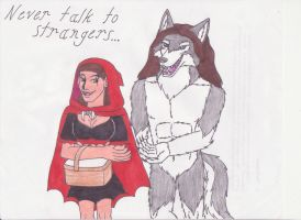 Never Talk to Strangers by Dragon-hobbit101