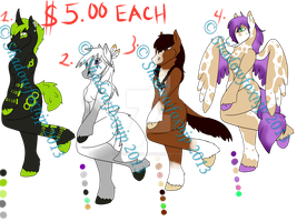 paypal horse adopts closed all bought! by Shadowfoxnjp