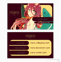 Business Card- Aero Centric by niaro