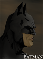 The Batman - Colored - by NorthboundFox
