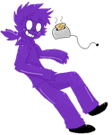 Purple Guy Pagedoll by Scurryy