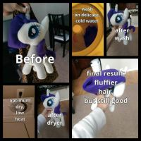 How to wash a Pony Plush by Jhaub1