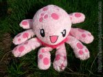 Clara the jellyfish Plushie by The-Cute-Storm
