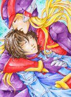 Aceo - In your arms by cross-works