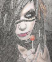 Andy Biersack by GaiaNick