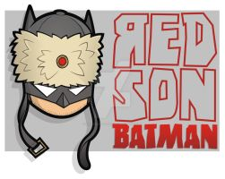 Heads Up Red Son Batman by HeadsUpStudios