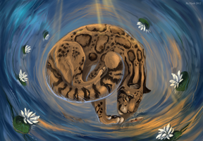 The whirlpool of happiness by FlashW