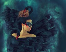 Black Swan by vismaya