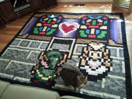 Zelda Quilt by dirtbird