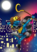 Sly Cooper. by ChibiVoltage