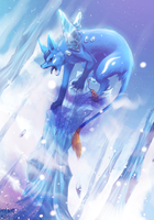 Frostbite - Ice Pillar by Nakubi