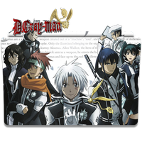 D.Gray Man - Icon Folder by ubagutobr