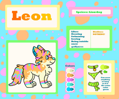 Leon Ref by FluffCow