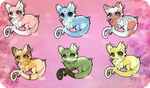 [Cheap+Points] Fluffy Draggies Batch 2 [OPEN] by WizardyAdopts
