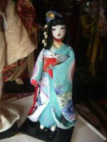 japanese girl doll by curlytopsan
