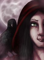 The Morrigan by LadySilvie