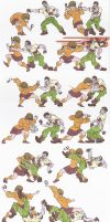 scooby doo_vs_resident evil_doodles_01_apr2015 by AlexBaxtheDarkSide