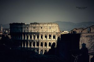 Le Colisee, Rome by MPlichard