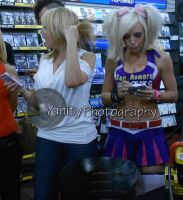 Tara Strong and Jessica Nigri 2 by xxXSketchBookXxx