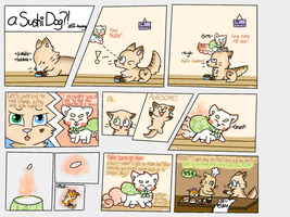 A Sushi Dog? -Comic- .:CE:. by allie-huang