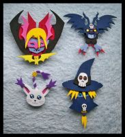 Pins - Myotismon Arc Digimon by GwydionAE