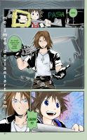 Leon - KH manga colored by melime6
