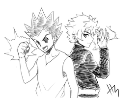 HxH Return!!! by Dark-Oshigan