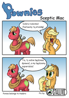 Pownies: Sceptic Mac by Stallivo