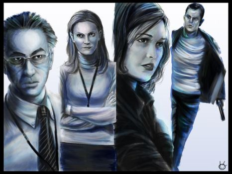 The Bourne Ultimatum Art by MDreed