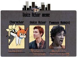 Spectranum Voice Actor Meme - Walter by gaytiers