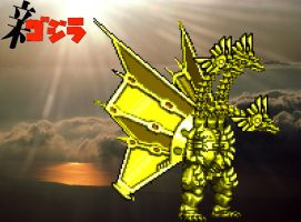 """Answers"" Chogokin Kami Ghidorah by GIGAN05"
