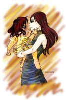 SPOILER - Bella and Nessie by Wintu