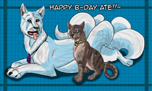 B-day Gift for AteneaKitty by RakPolaris